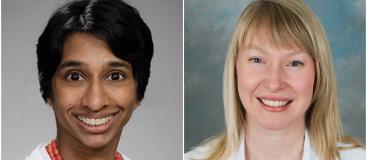 Drs. Shobha Stack and Jennifer Best